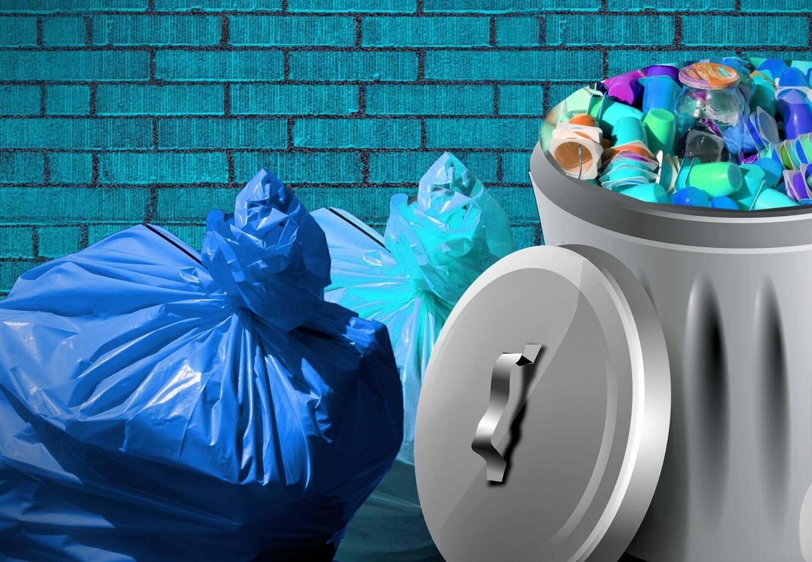 Plastpåsar på kontor lika viktiga som matkassen