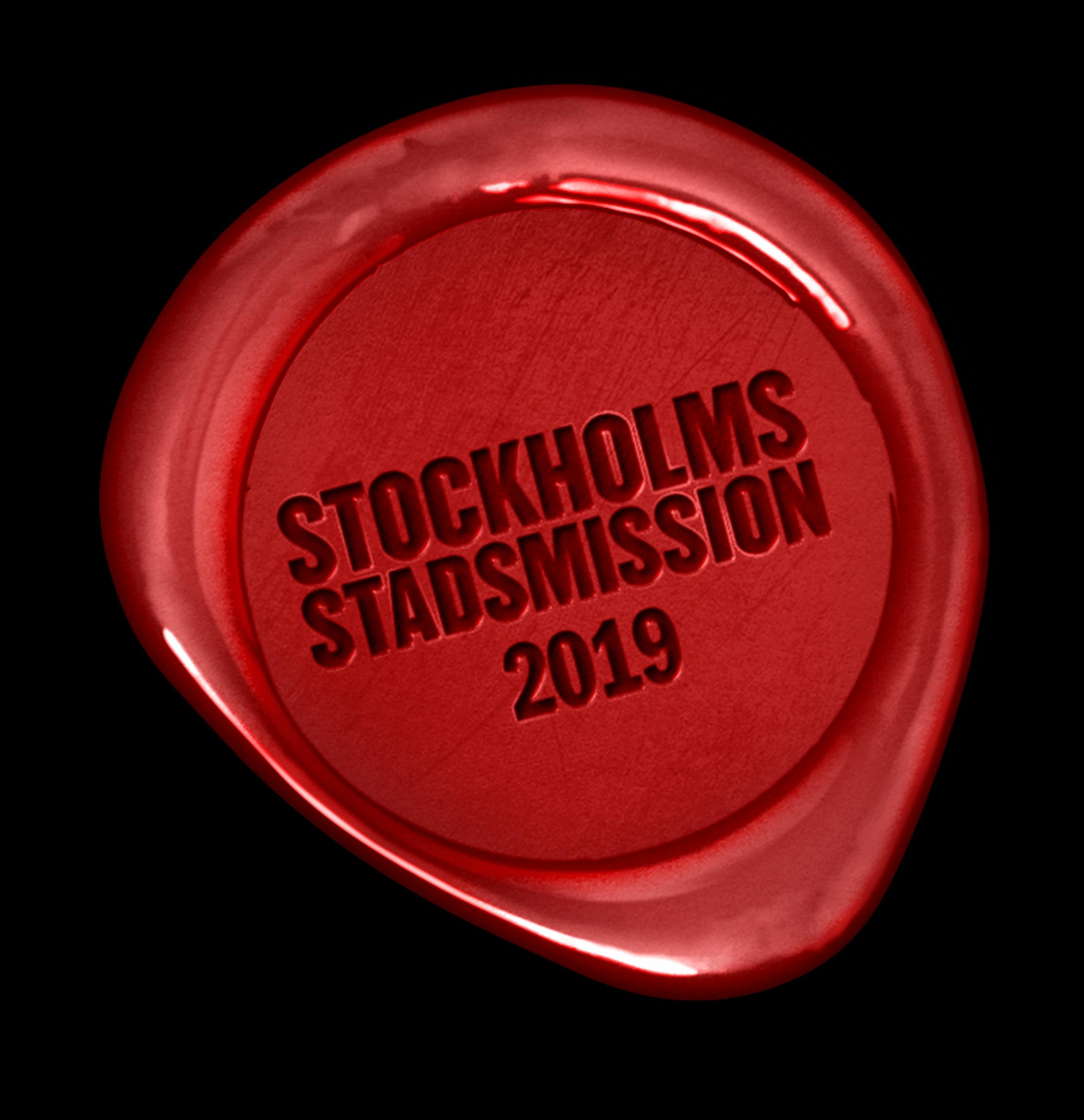 10 000kr till Stockholms Stadsmission